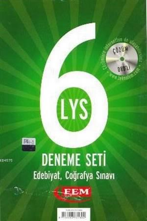 Fem Çözüm Dvd'li 6 LYS Deneme Seti Edebiyat - Coğrafya Sınavı