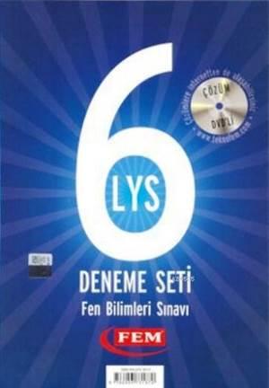 Fem Çözüm Dvd'li 6 LYS Deneme Seti Fen Bilimleri Sınavı