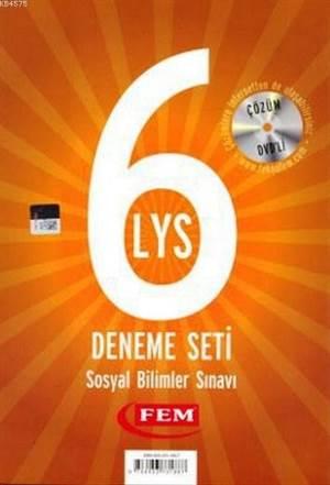 Fem Çözüm Dvd'li 6 LYS Deneme Seti Sosyal Bilimleri Sınavı