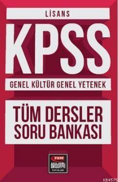 Fem Akademi Lisans KPSS Genel Kültür - Genel Yetenek; Tüm Dersler Soru Bankası
