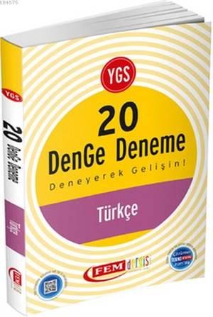 YGS Türkçe 20 Denge Deneme