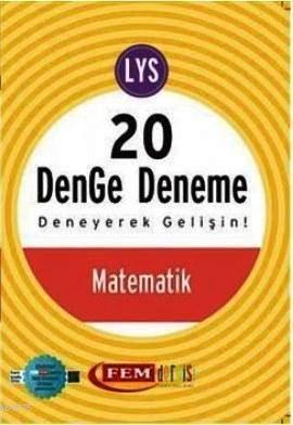 Fem Simetrik LYS 20 Matematik Denge Deneme