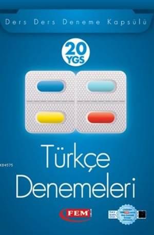 Fem Ygs Türkçe 20 Deneme