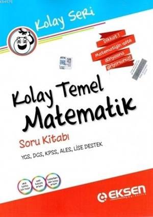 Eksen Kolay Temel Matematik Soru Kitabı