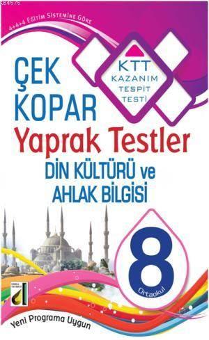 8. Sınıf Din Kültürü Ve Ahlak Bilgisi Yaprak Testler