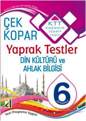 6. Sınıf Din Kültürü Ve Ahlak Bilgisi; Çek Kopar Yaprak Testler