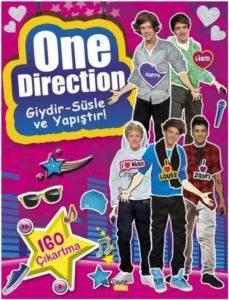 One Direction Giydir Süsle Ve Yapıştır