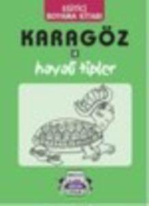 Karagöz-4 Hayali Tipler Boyama Kitabı