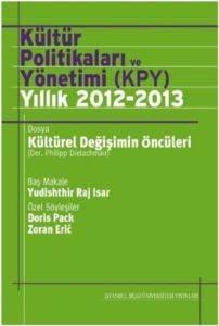 Kültür Politikalari Ve Yönetimi (Kpy) Yillik 2012-13