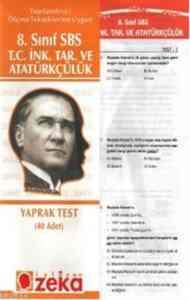 8. Sınıf SBS T.C. İnkılap Tarihi ve Atatürkçülük Yaprak Testi