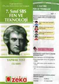 7. Sınıf SBS Fen ve Teknoloji Yaprak Testi