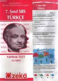 7. Sınıf SBS Türkçe Yaprak Testi
