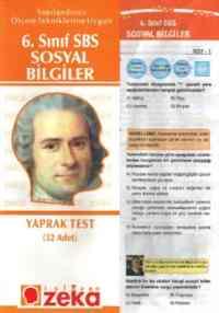 6. Sınıf Sosyal Bilgiler Yaprak Testi