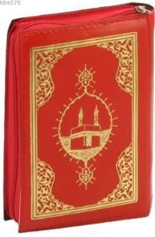 Kur'an-I Kerim Bilgisayar Hatlı Renkli (Cep Boy, Kılıflı); (Türkçe Fihristli)