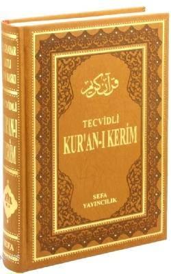 Tecvidli Kur'an-I Kerim - Bilgisayar Hatlı (Cami Boy - Termo Deri)
