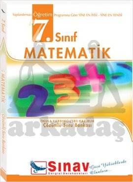 7.Sınıf Matematik Çözümlü Soru Bankası