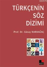 Türkçe'Nin Söz Dizimi