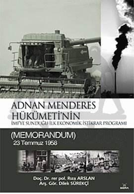 Adnan Menderes Hükümeti'nin Programı