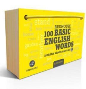 Redhouse 100 Basic English Words 1 İngilizce Sözcük Kartları