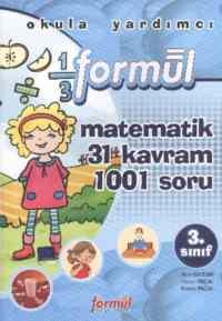 Matematik 3.Sınıf 31 Kavram 1001 Soru
