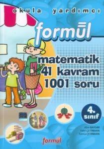 Matematik 4.Sınıf 41 Kavram 1001 Soru