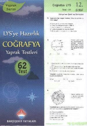 12.Sınıf YGS-LYS Coğrafya Yaprak Testleri; Yaprak Serisi - 62 Test