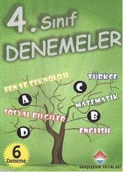 4. Sınıf Denemeler; Fen Ve Teknoloji - Türkçe - Matematik - Sosyal Bilgiler - İngilizce