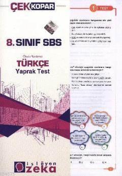 8.Sınıf Türkçe Yaprak Test