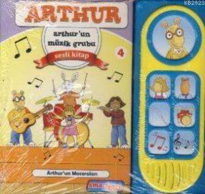 Arthur-Arthur'un Müzik Grubu (Sesli Kitap)