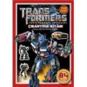 Transformers Çıkartma Kitabı