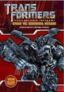 Transformers Oyun ve Boyama Kitabı