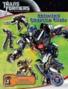 Transformers - 3 Aktiviteli Çıkartma Kitabı