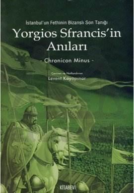 Yorgios Sfrancis'in Anıları