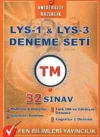 LYS-1 & LYS-3 Deneme Seti 32 Sınav