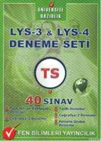 LYS-3 & LYS-4 Deneme Seti 40 Sınav