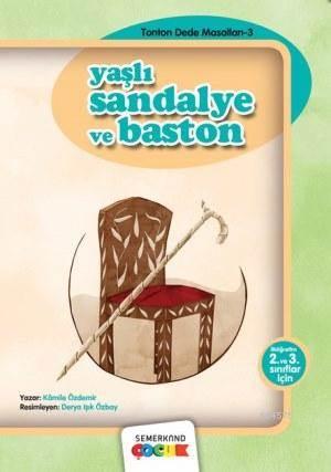 Yaşlı Sandalye Ve Baston