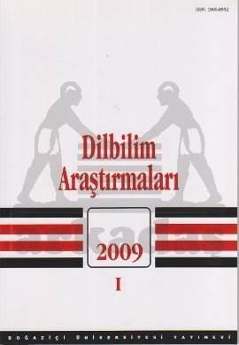 Dilbilim Araştırmaları 2009 / I