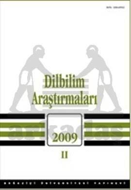 Dilbilim Araştırmaları 2009 / II