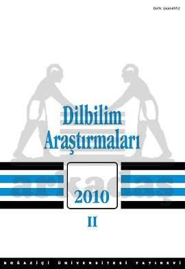 Dilbilim Araştırmaları 2010 /II