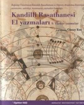 Kandilli Rasathanesi El Yazmaları-2