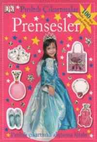 Pırıltılı Çıkartmalar-Prensesler