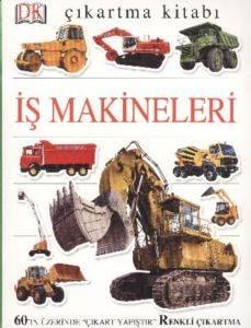 İş Makineleri Çıkartma Kitabı