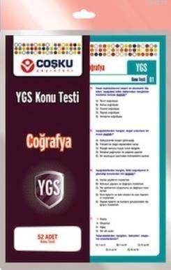 Coşku 12.Sınıf Ygs Coğrafya Testi