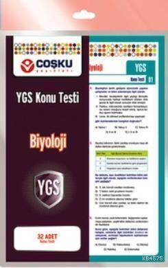 Coşku 12.Sınıf Ygs Biyoloji Testi