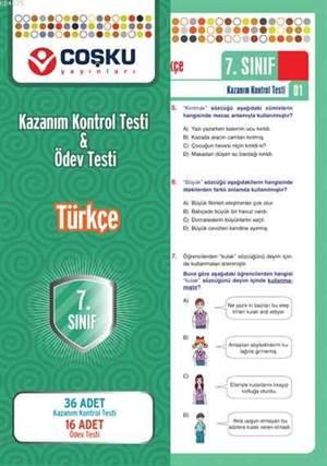 Coşku 7.Sınıf K.K.Testi & Ödev Testi Türkçe