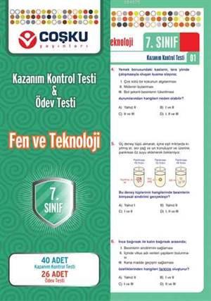 Coşku 7.Sınıf K.K.Testi & Ödev Testi Fen ve Teknoloji