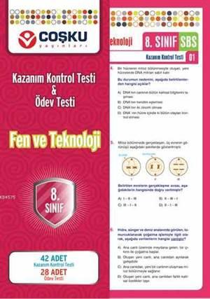 Coşku 8.Sınıf K.K.Testi & Ödev Testi Fen ve Teknoloji