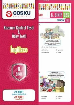 Coşku 8.Sınıf K.K.Testi & Ödev Testi İngilizce