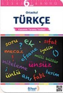 BİLTEST Ortaokul Türkçe 6 Kazanım Tarama Testleri