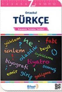 BİLTEST Ortaokul Türkçe 7 Kazanım Tarama Testleri
